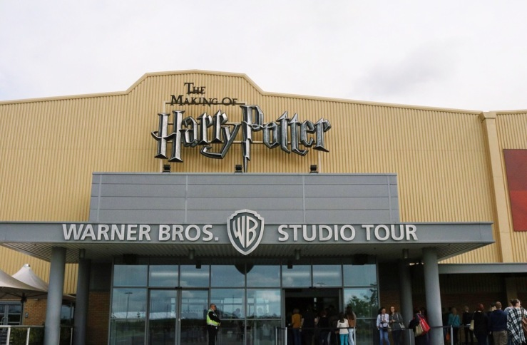The Making of Harry Potter - Studio Tour Entrance