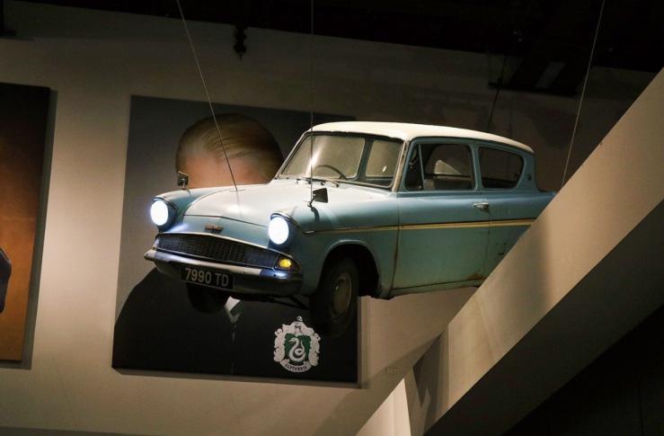 Weasley's flying car