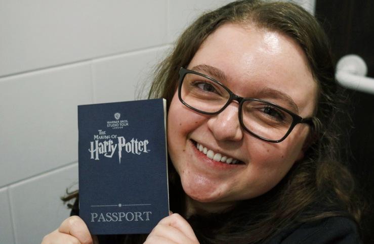 Posing with my Studio Tour Passport