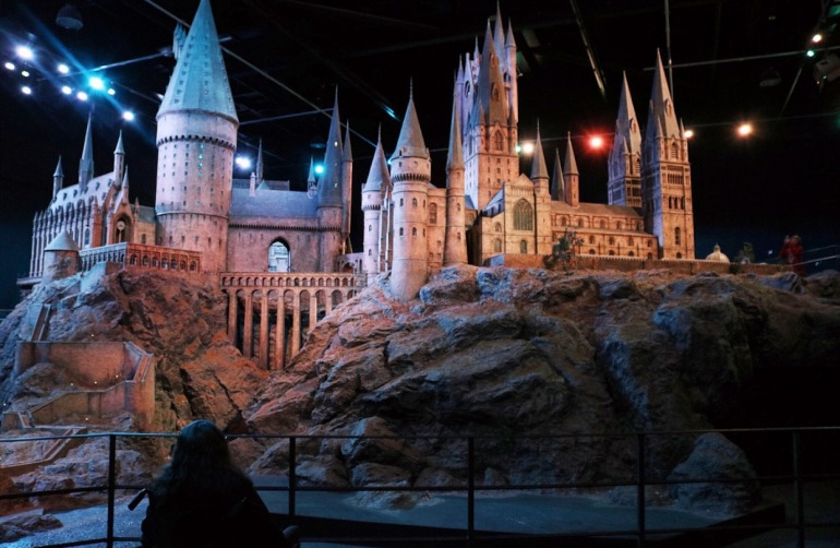 Hogwarts Castle Outer Filming Set