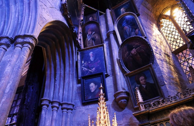 More Portraits in Dumbledore's office