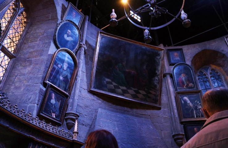 Portraits in Dumbledores office