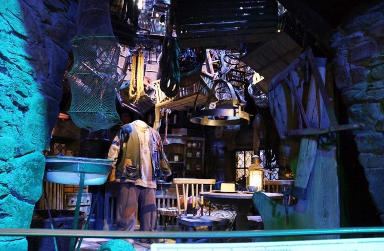 Inside Hagrids Hut Set