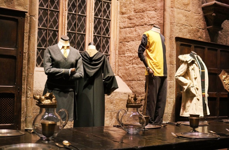 House Costumes within the hall
