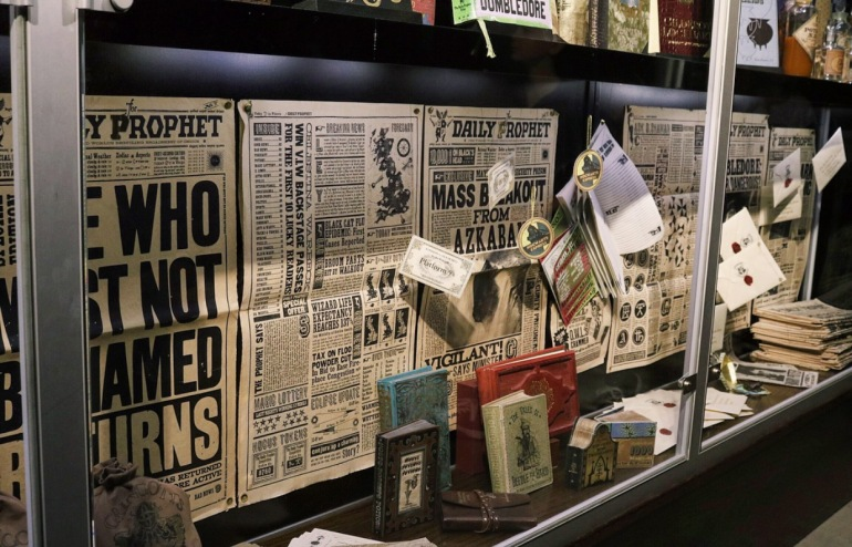 Newspapers, Books and Publishings from the film