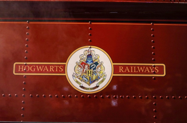 Hogwarts Express side sign Train