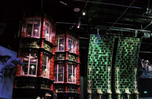 Ministry of Magic Back drops and set design