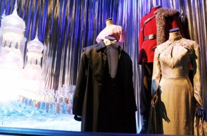 The Yule Ball Costumes & Ice (looking) Sculpture
