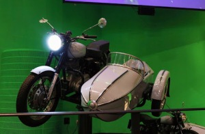 Hagrids Motorbike & Side Car