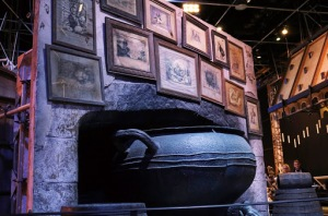 Leaky Cauldron Fireplace