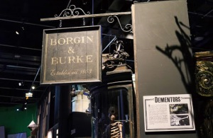 Borgin & Burke Shop Sign Set