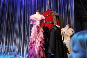 Hermiones, Vikram, Harry and Cho's Yule Ball Outfits