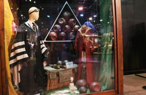 Quidditch display props and costumes