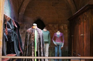 Invisibility cloak and Hermione and Ron costumes