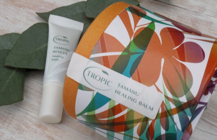 Tropic products - Tamanu Rescue and Tamanu Healing balm