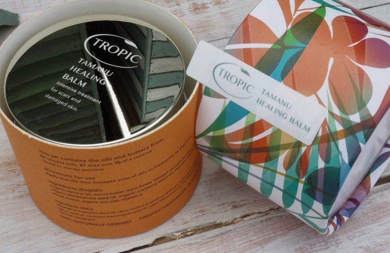 Tropic - Tamanu healing Balm, intensive treatment for scars and damaged skin